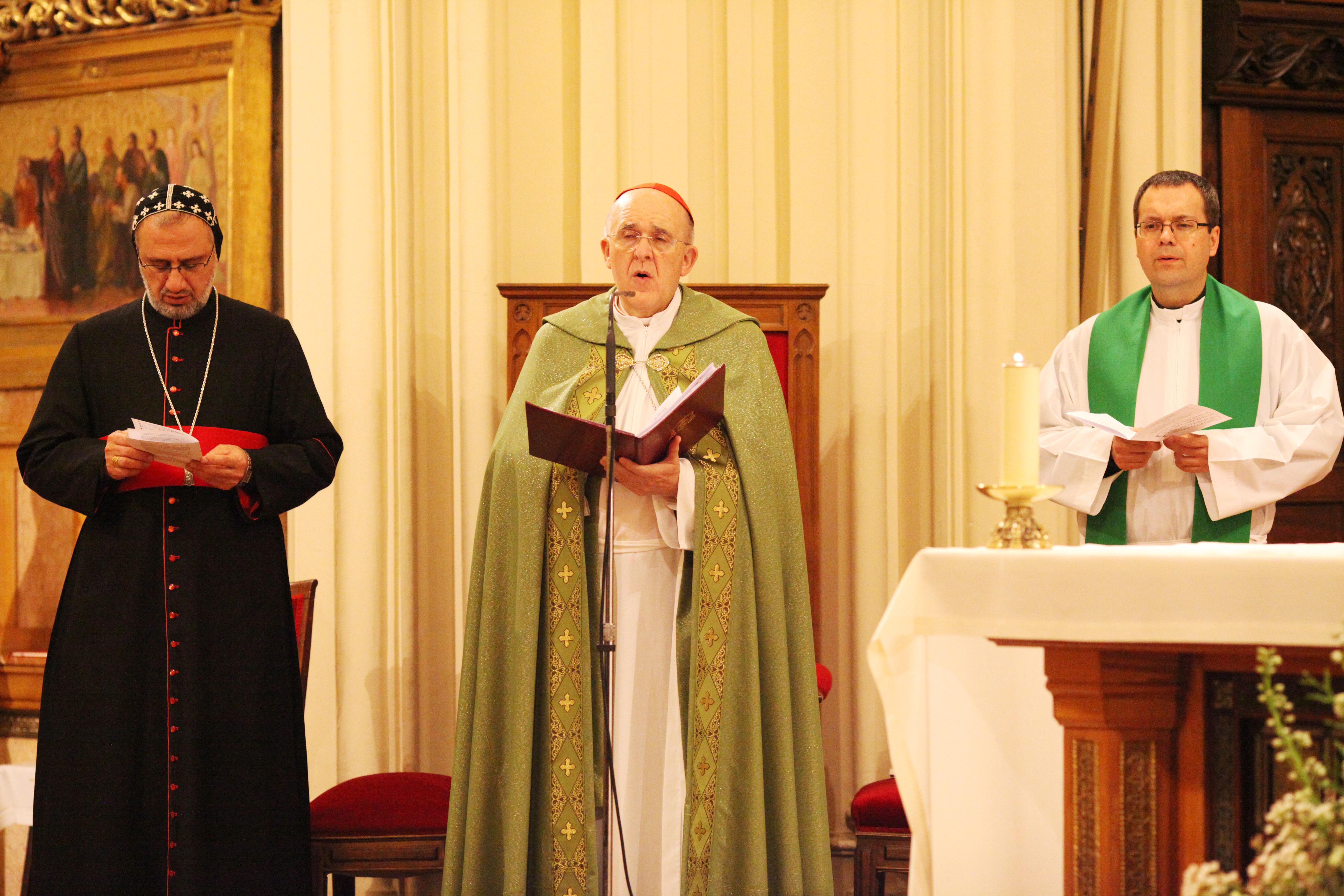 Inauguración del octavario por la unidad de los cristianos