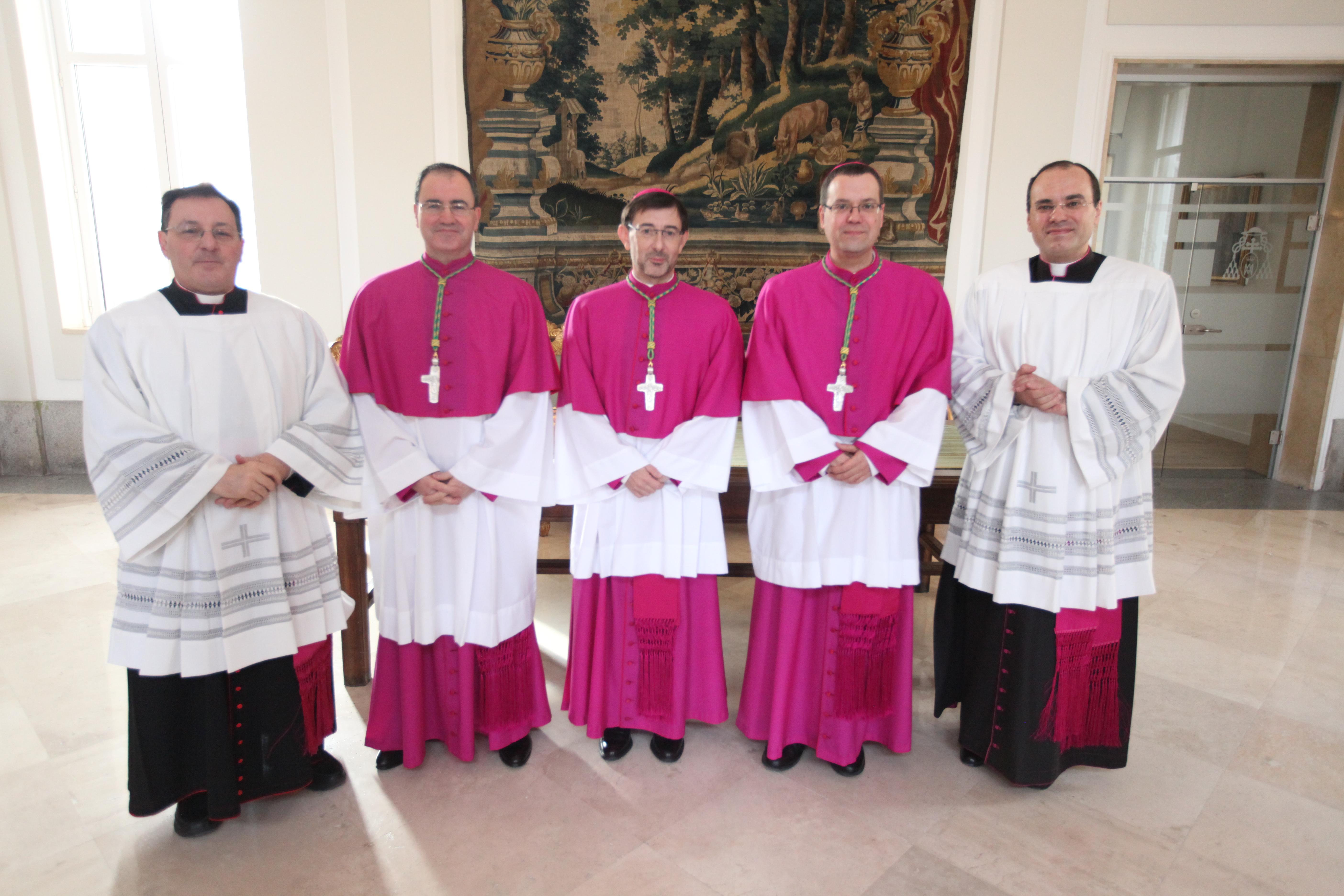 Ordenación episcopal de tres nuevos Obispos auxiliares para la diócesis de Madrid